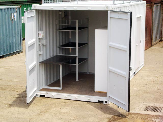 shipping container shed plans