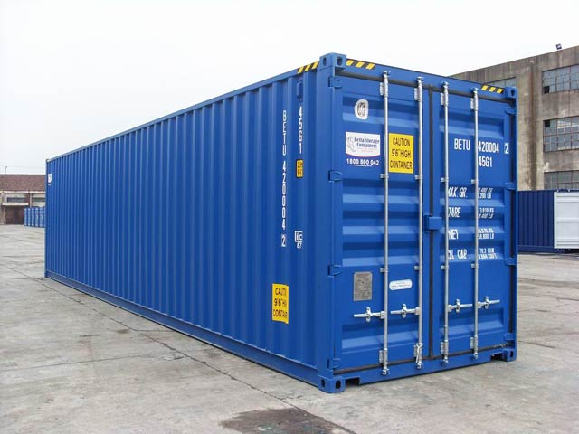 NEW BETU blue container