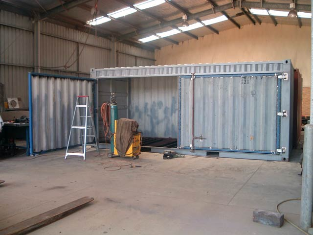 Work Shop container
